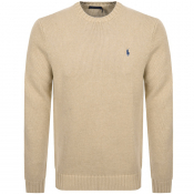 Ralph Lauren Knit Jumper Beige